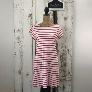 Milly striped nautical red/white dress